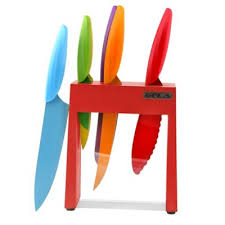 buy colored knife set from bed bath u0026 beyond