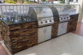dueling grills custom outdoor kitchen build u2013 ada compliant