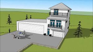metal building house plans metal building three story condo attached to airplane hangar
