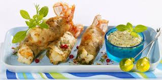 cuisiner les langoustines croustillants de langoustines facile recette sur cuisine actuelle