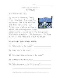 reading comprehension worksheet places to visit pinterest