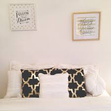Gold And White Bedroom Furniture Black Gold And White Bedroom Pillows And Pictures From Hobby