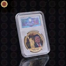 wr 2017 new coin the united states president donald trump home in