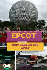 epcot how long does a family need to spend at this disney theme park