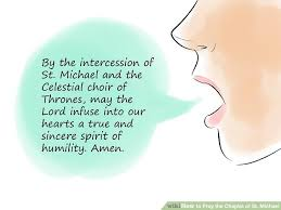 Chaplet Of The Holy Face How To Pray The Chaplet Of St Michael 12 Steps With Pictures
