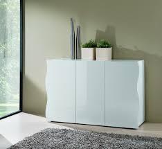 Buffet design blanc laqué 3 portes da 130 cm