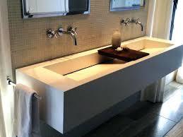 bathroom sink wall mount bathroom sink faucet shelf back 2