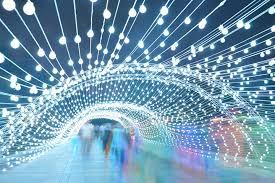 light tunnel installation by aepioneer tehran iran retail