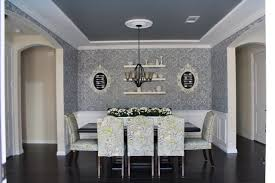 Damask Dining Chair Dining Room Redo Using The Kerry Damask Stencil Stencil Stories