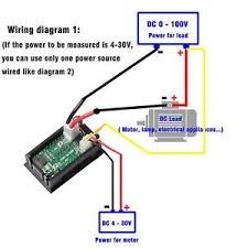 0 28 inch digital voltmeter ammeter dc 100v 100a led amp volt