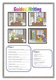 english teaching worksheets guided writing