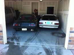 3 Car Garage Ideas 3 Cars In A 2 Car Garage Rx7club Com Mazda Rx7 Forum