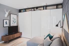 szafarnia 2 compact apartment by raca architekci caandesign