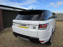 white range rover sport used 2015 land rover range rover sport sdv6 hse for sale in