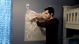 Removing Wall Stickers Wall Decals Wet Method Transfer Layer Removal Accent Studios