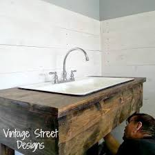 how to make a sink base cabinet how to make a rustic sink base rustic sink kitchen sink