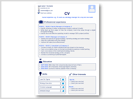 powerpoint resume template professional cv resume templates in word powerpoint