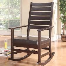 Modern Wooden Rocking Chair Chair Appealing Wooden Rocking Chairs Big Outside Rocking Chairs