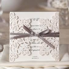 100 rustic wedding invitation kit diy blank wedding invitation kit
