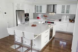 Kitchen Design With White Cabinets Exellent Modern Kitchen Design White Cabinets For Ideas Pertaining