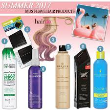 must have hair 7 must have hair products for summer 2017 all in the blush