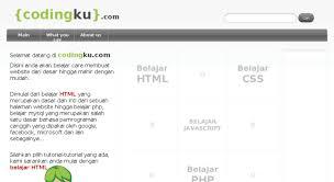 cara membuat blog yang gratis access codingku com codingku cara membuat website cara membuat