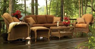 Outdoor Patio Furniture Wicker Home Design Ideas And Pictures - Patio furniture sofa sets