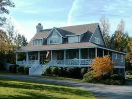 farmhouse with wrap around porch plans hahnow