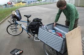 fabriquer son porte velo remorque vélo y frame