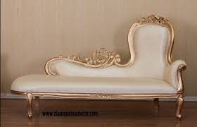 Fainting Bench Baroque French Reproduction Louis Xvi Style Fainting Couch Or