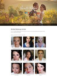 professional makeup artists websites bridal makeup artist website exle web developer