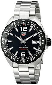 tag heuer black friday deals amazon com tag heuer men u0027s waz1110 ba0875 stainless steel watch