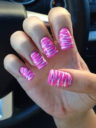 zebra print love the colours hair u0026 beauty pinterest nail