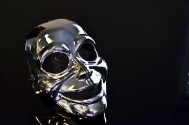silver mask silver mask background free stock photo domain pictures