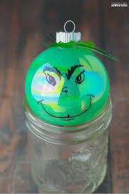 totally rotten diy grinch ornament