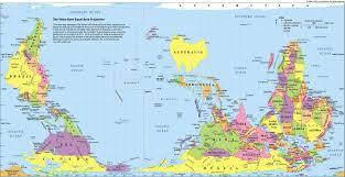 Wold Map Australian World Map Funny