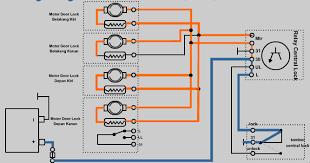 komponen central lock power window dan cara kerjanya