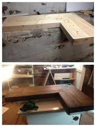 How To Build An L Shaped Desk Solid Wood And Steel Office Desk Configured For Your Space Of