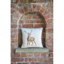 Stag Cushions Wild At Heart Cushion Wrendale Designs By Hannah Dale