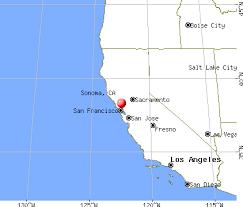sonoma california map sonoma california ca 95476 profile population maps