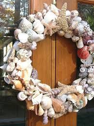 seashell wreath shell wreath hgtv