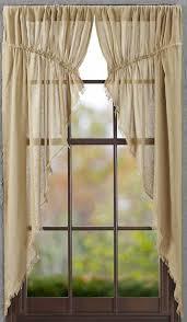 Curtain Place Tobacco Cloth Khaki Prairie Curtain Allysons Place