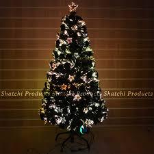 fibre optic decorated tree decoration image idea