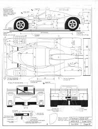 ferrari front drawing diy make it yourself for 50k ferrari 333sp 1994 its not that