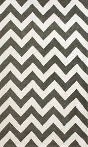 Outdoor Chevron Rug Nuloom Shaggy Chevron Black White Outdoor Area Rug Surripui Net