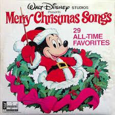 various walt disney studios presents merry songs