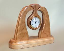 Free Wooden Clock Plans Download by Wood Desk Clock Designs Woodworking Plans Product Info