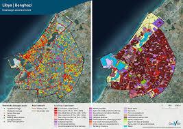 Map Of Benghazi Focus Copernicus Geoville
