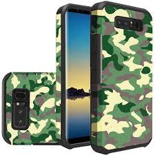 Samsung Galaxy Rugged Samsung Galaxy Note 8 Camouflage Design Slim Hybrid Rugged Case