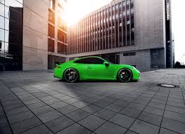 porsche chrome 2013 techart porsche 911 carrera 4s lean emerald green machine